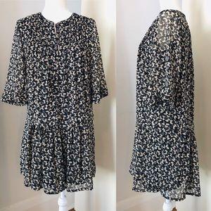 Dresses & Skirts - Drop waist tiered babydoll dress